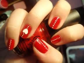 Pics photos red nail designs color cute design ideas