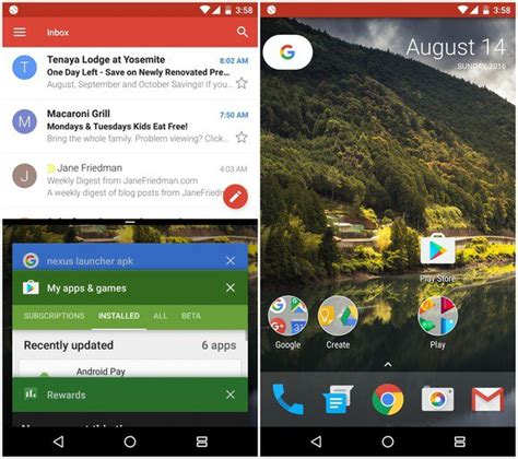 split screen app for android how to use split screen mode in android nougat pcworld