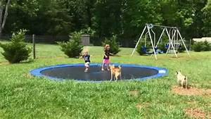 In Ground Trampolin : diy in ground trampoline youtube ~ Orissabook.com Haus und Dekorationen
