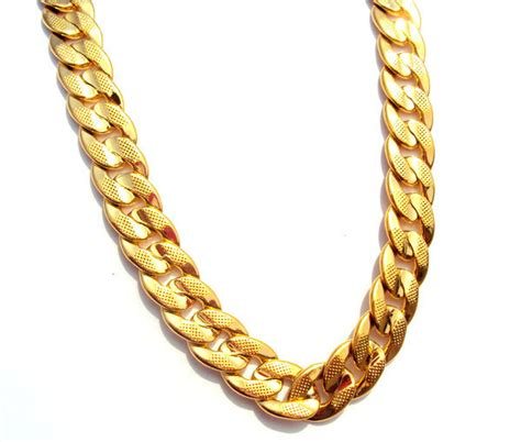 24k Solid Gold Necklace - Jewelry Ideas