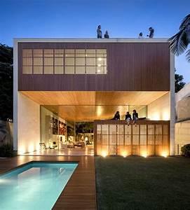 Maison En Forme De Cube Cr U00e9 U00e9e Par Studio Mk27
