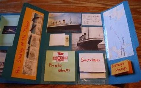 titanic lapbook      lapbooks