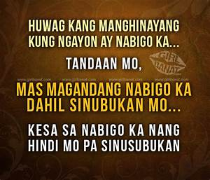 Tagalog Inspirational Quotes. QuotesGram