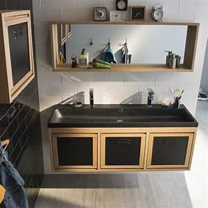 Meuble Salle Bain Castorama : meuble salle de bain 90 cm castorama ~ Melissatoandfro.com Idées de Décoration