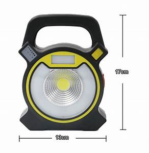 Emergency battery flood lights : Dc v w light modes portable usb charging flood