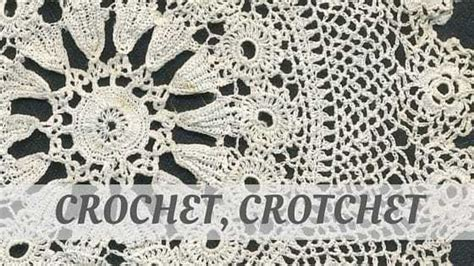 crochet crotchet   local  crochet crotchet