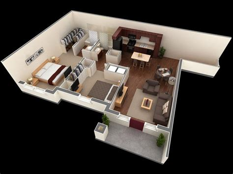 awesome  apartment plans   bedrooms part