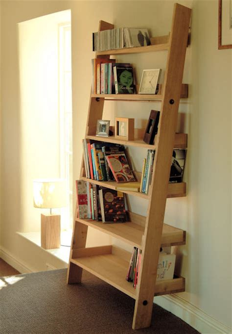 outstanding bookshelf designs   repurposed ladders