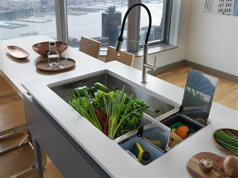 chef center sinks stainless steel architonic