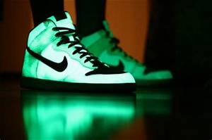 glow high tops light neon nike pretty image