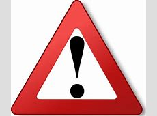 Warning Sign clip art Free vector in Open office drawing