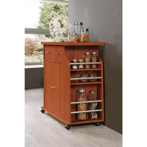 kitchen island with drawers kitchen island storage with spice rack cherry pantry