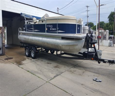 Used Pontoon Boat Trailers For Sale In Ohio by Pontoon Boats For Sale In Cincinnati Ohio Used Pontoon