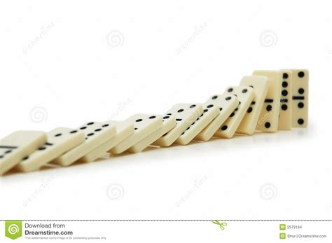 domino effect stock photo image  accident dots motion