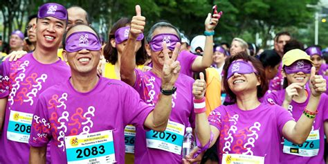 Runninghour 2016 Run Blind For A Great Cause  Just Run Lah