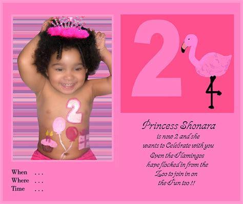 Two Year Old Boy Birthday Invitation Sample