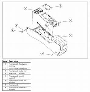 Service Manual  Air Bag Restraint Control Module Location