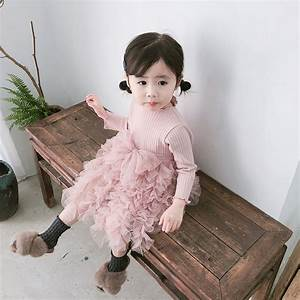 MYUDI Autumn Girls Dress Lovely Pricess Baby girl Bow Tie ...