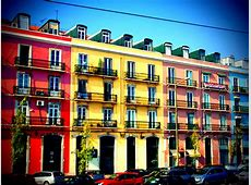 Colorful Building in Lisbon Colorful apartment somewhere