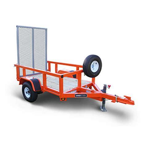 lawn garden trailer 3 ft x 5 ft rental the home depot