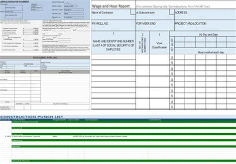 finding   construction templates  smartsheet