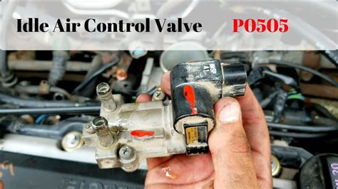 Honda Civic Idle Air Control Valve Youtube