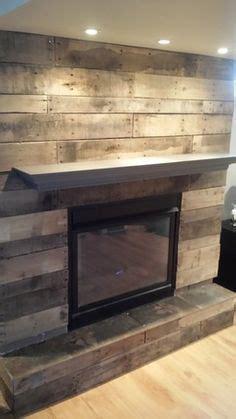 ryobi nation pallet board fireplace surround basement
