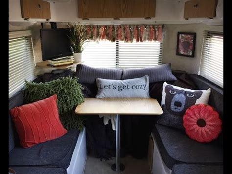 amazing travel trailer decorating ideas youtube