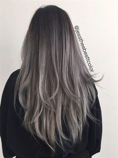 The 25 Best Grey Brown Hair Ideas On Pinterest Ash Grey