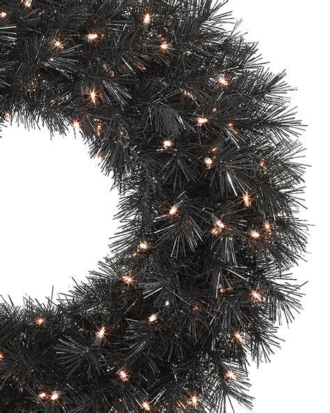 tuxedo black christmas wreaths garland for sale treetopia