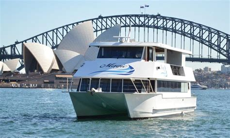 Catamaran Boat Share Sydney by Magic Cruises In Sydney Groupon