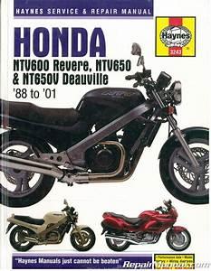 Honda Ntv600 Revere Ntv650 Nt650v Deauville 1988