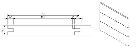 Shiplap Profile by Shiplap Siding