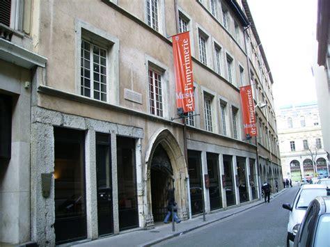 musee moderne lyon le mus 233 e de l imprimerie mus 233 e lyon