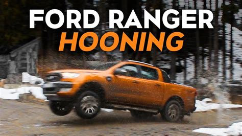 hooning   ford ranger pickup  road youtube