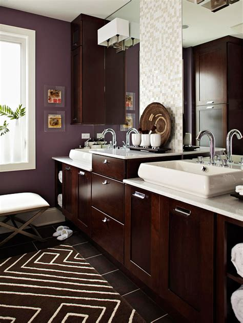 warm  inviting bathroom designs