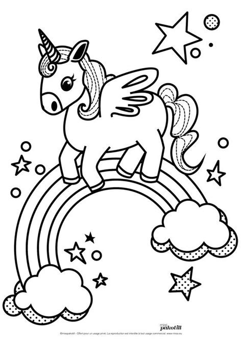 Dibujos Para Pintar De Unicornios