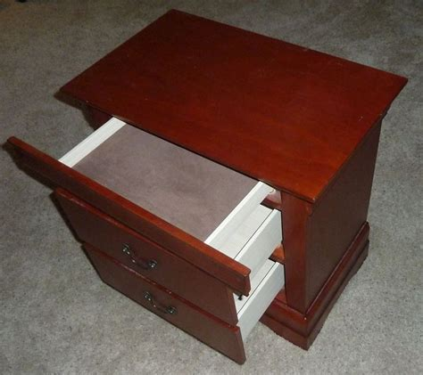 night stand plans  hidden compartment woodworking