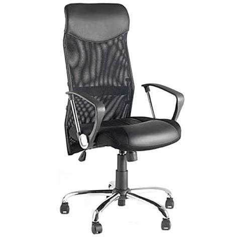 fauteuil bureau tissu fauteuil de bureau condor en simili cuir et tissu maille