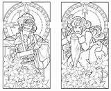 Coloring Deco Nouveau Printable Adult Adults Twins Minnesota Colouring Patterns 1920s Steampunk Butterfly Getcolorings Stained Glass Pa Coloringhome Popular Deviantart sketch template