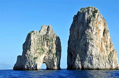 Most Famous Rocks In Capri Campania Italy