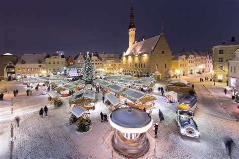 Santa Claus Land Of Lights by Tallinn Christmas Market Estonia