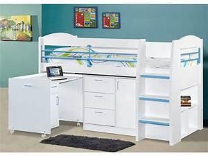 Lit Enfant Combiné : lit enfant vente unique lit combin dido ii 90x190 cm ~ Farleysfitness.com Idées de Décoration