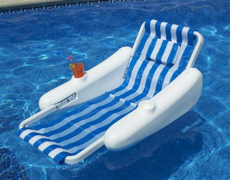 pool recreation floating lounge chairs sunchaser sling