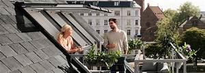 Dachgaube Mit Balkon Kosten : vom fenster zum dachbalkon oder dachaustritt velux ~ Lizthompson.info Haus und Dekorationen