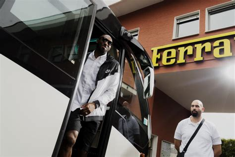 kobe bryant visits italy  european  sole collector
