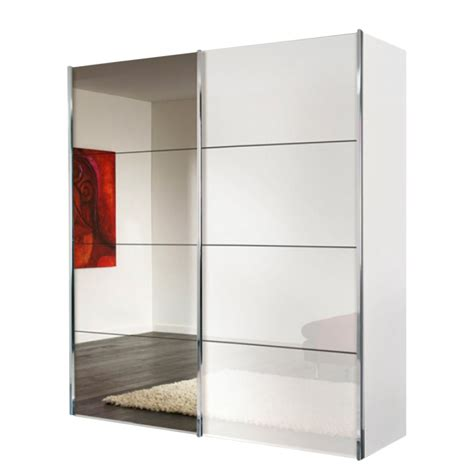 Armoire Blanche Porte Coulissante by Armoire Coulissante Miroir