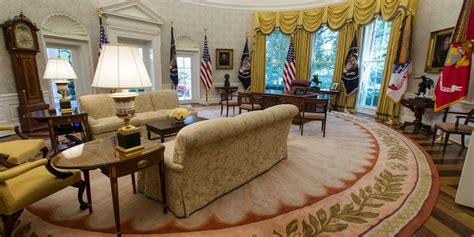 White House, Oval Office Renovated