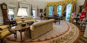 Photos  White House  Oval Office Renovated