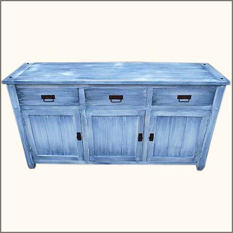Kitchen Credenza - appalachian distressed buffet kitchen cabinet wood